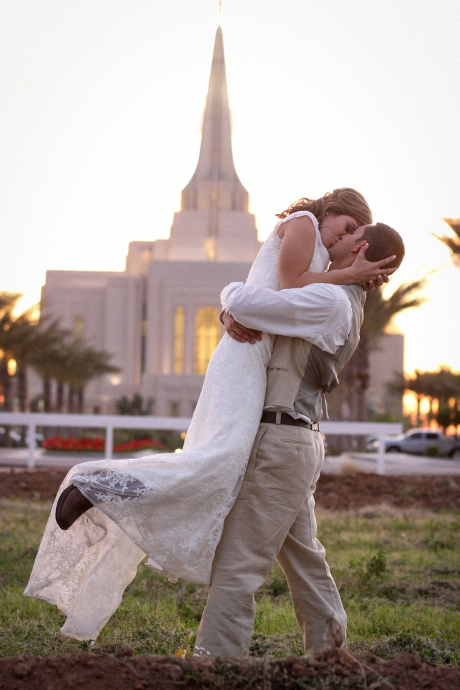 LDS Gilbert Temple Wedding Photography