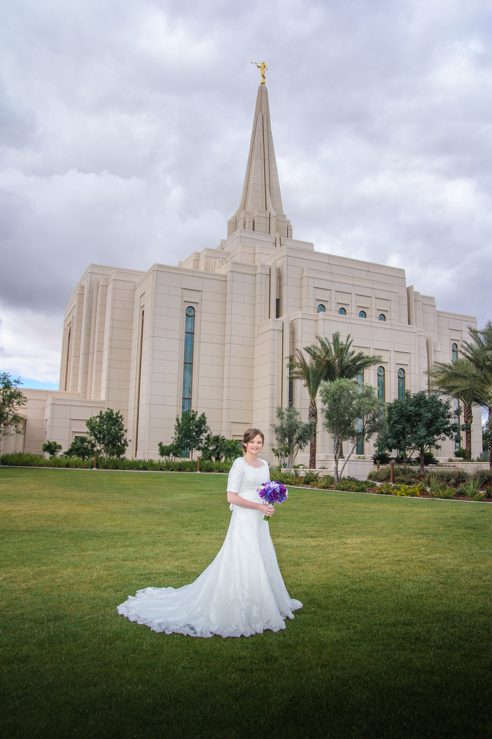 Bridal Photography Gilbert Temple