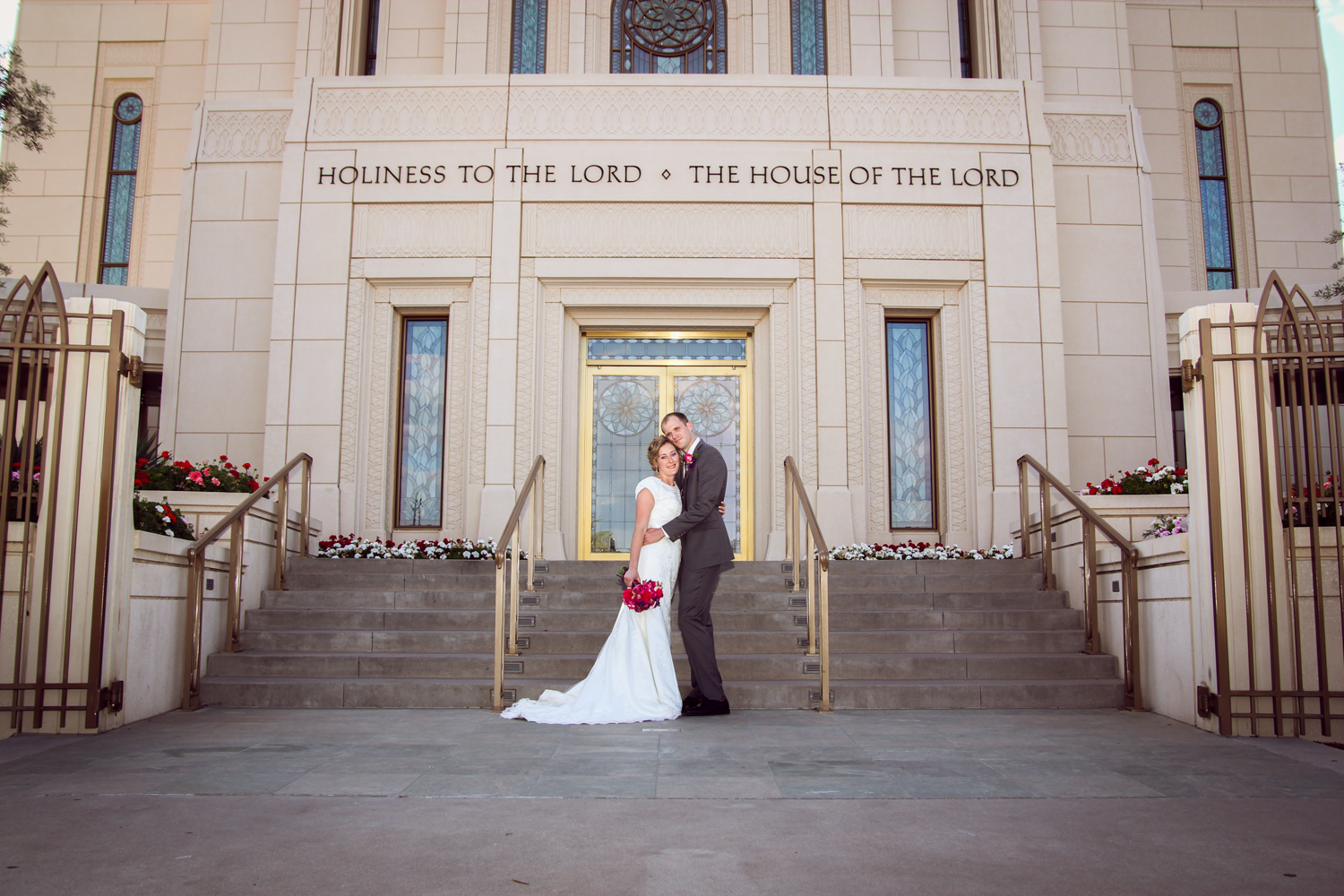 Wedding at Gilbert Temple