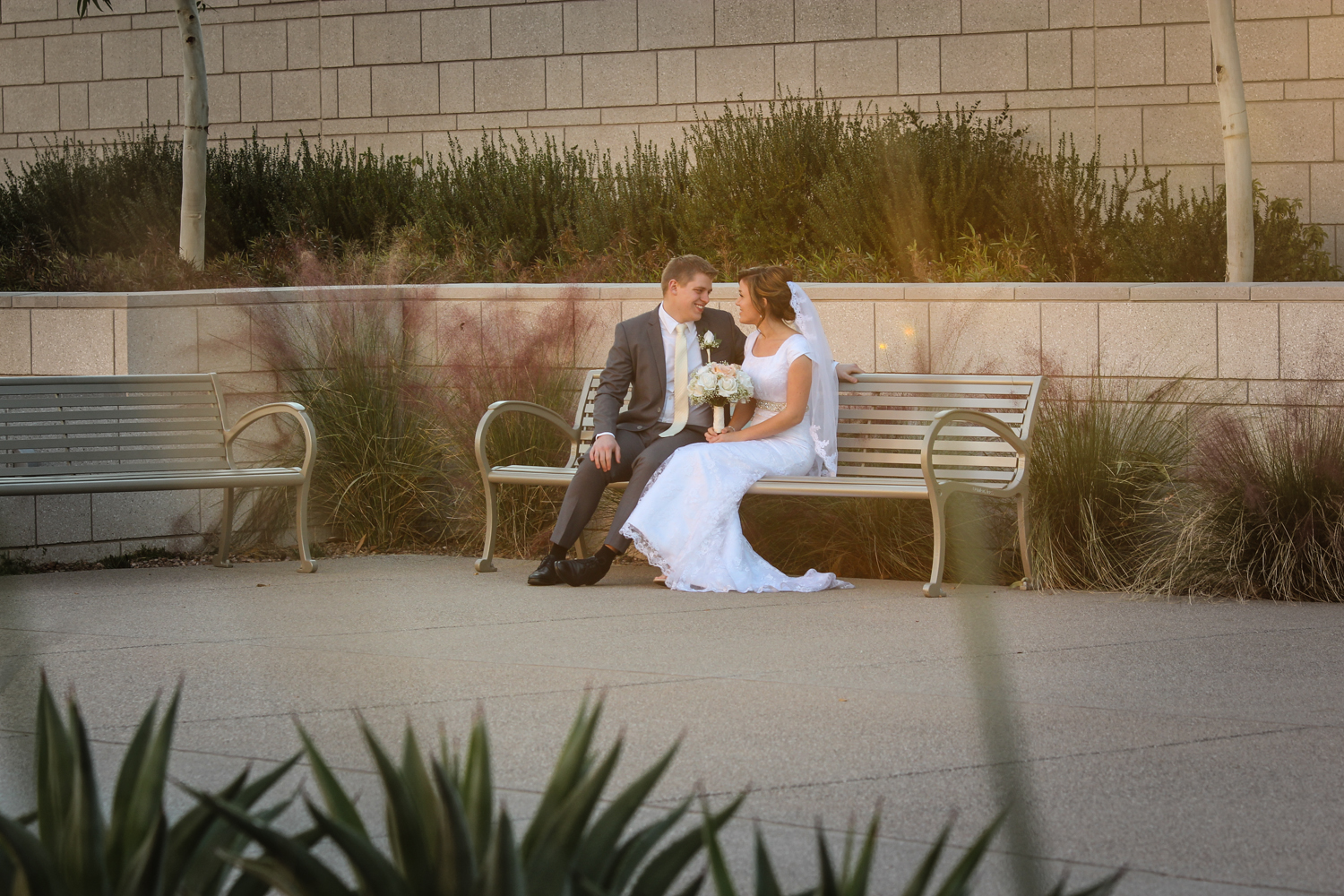 Phoenix Temple Wedding Phtoos
