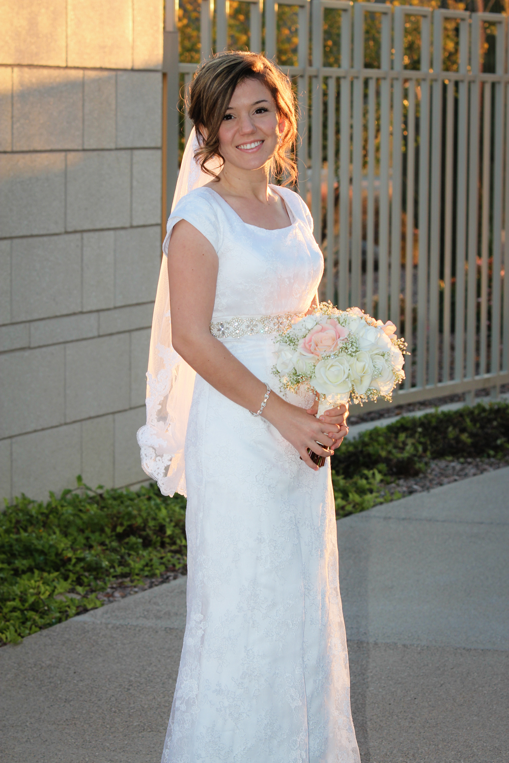 Bride Phoenix Temple Wedding