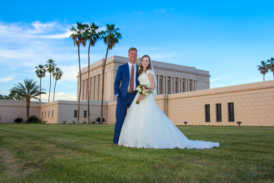 Mesa Temple Wedding Photographer