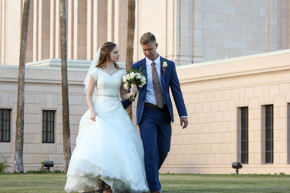Mesa Temple LDS Wedding Photographer