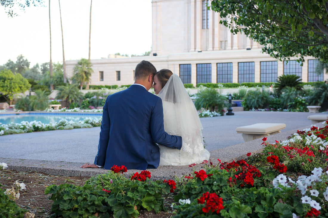 Mesa Temple Wedding Photos