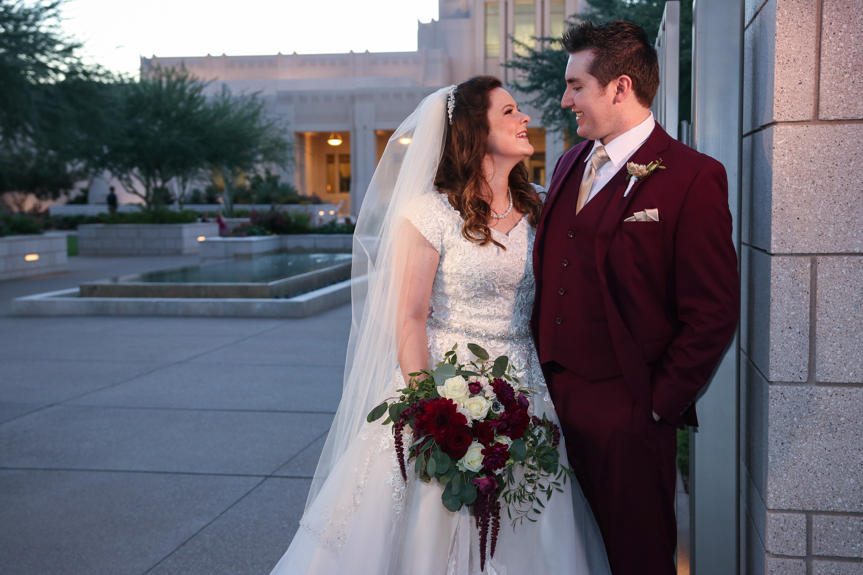 Phoenix Temple Wedding Photos