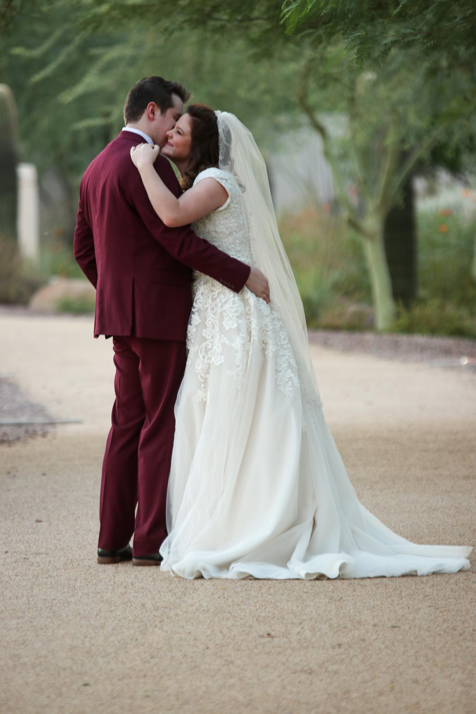 Phoenix Temple Wedding Photos