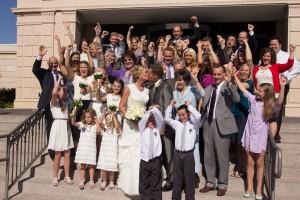 Mesa Temple Bridal Photos