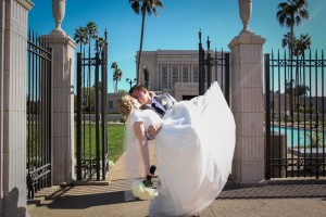 Mesa AZ Temple Wedding Photos