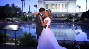 Mesa Temple Wedding Photography