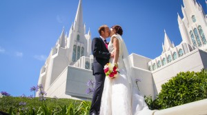 san diego temple wedding photos 1